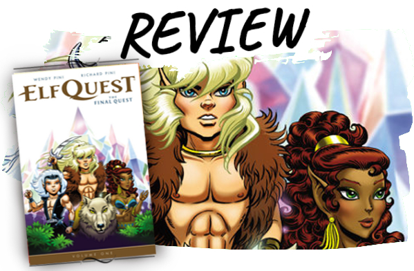 Elfquest Final Quest Comic Rezension