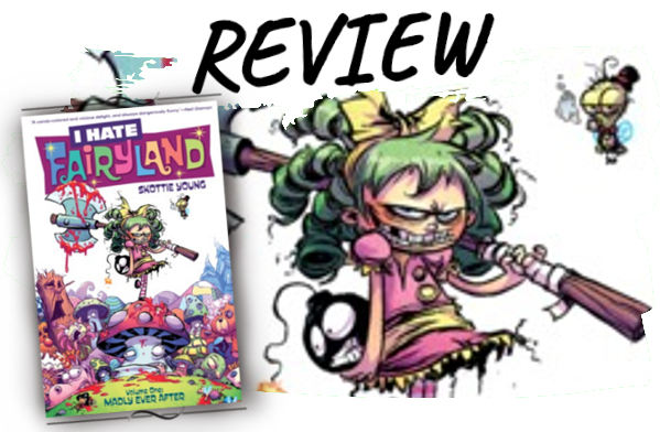 I hate Fairyland Comic Rezension