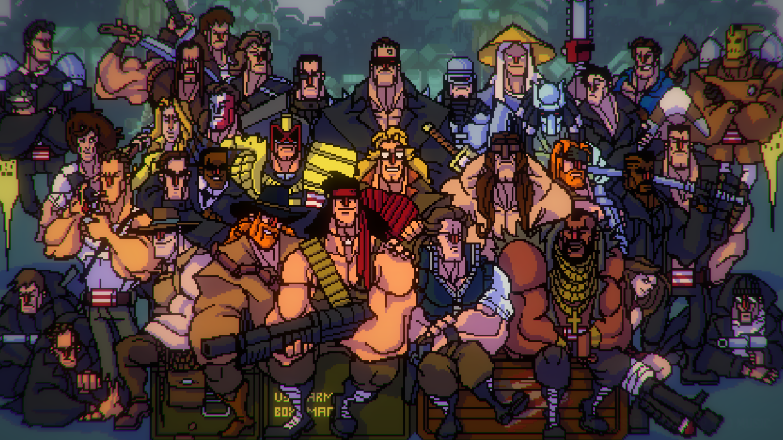 Broforce alle Helden