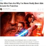 Star Wars Fans are awful