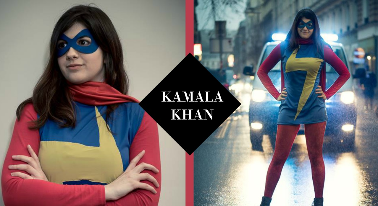 Kamala Khan Ms marvel Cosplay