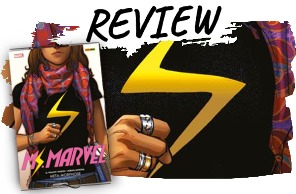 Ms Marvel Band 1 Comic Rezension