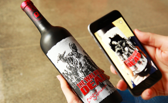 The Walking Dead Wein Augmented Reality