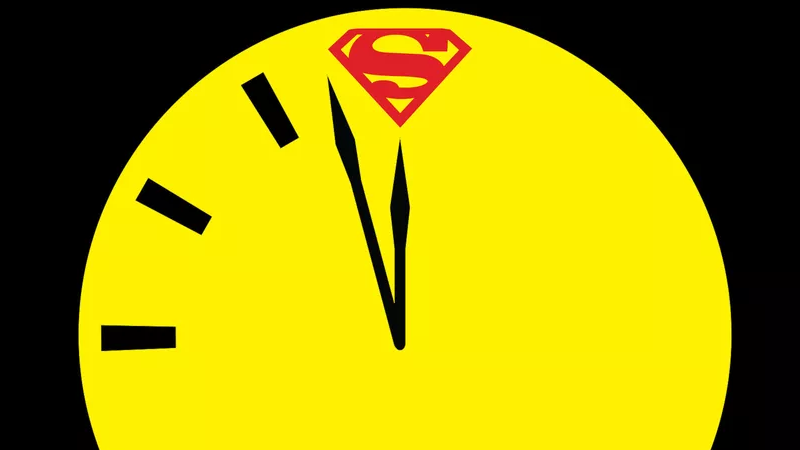DC Watchmen Doomsday Clock