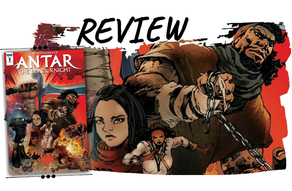 Review Antar The Black Knight Comic
