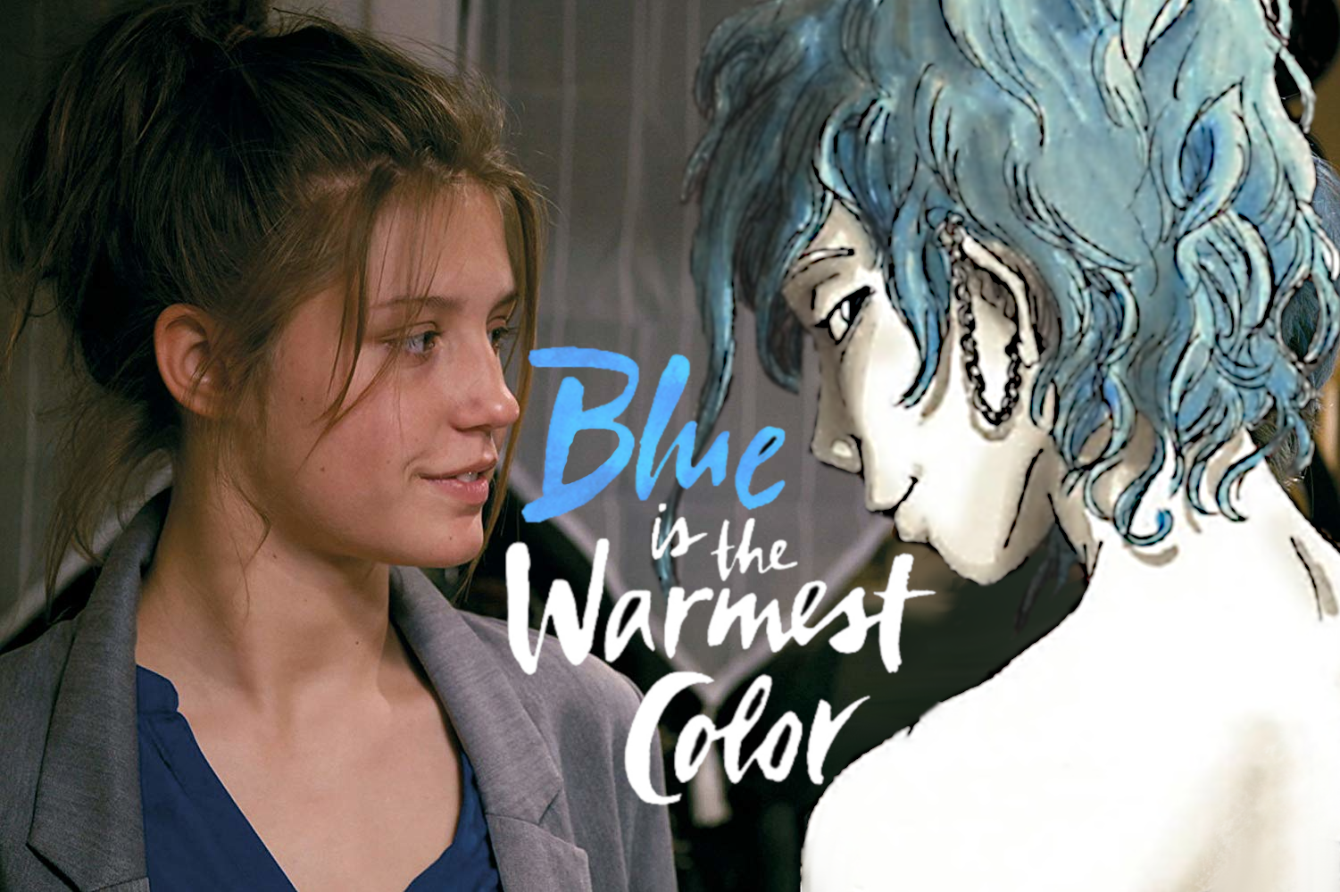 Blue is the warmest Color Vergleich Buch zum Film