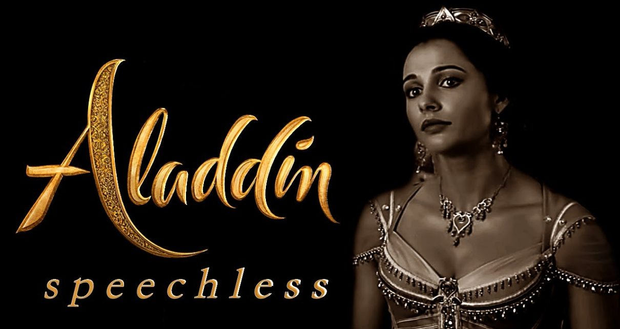 Header: Aladdin Jasmin Speechless