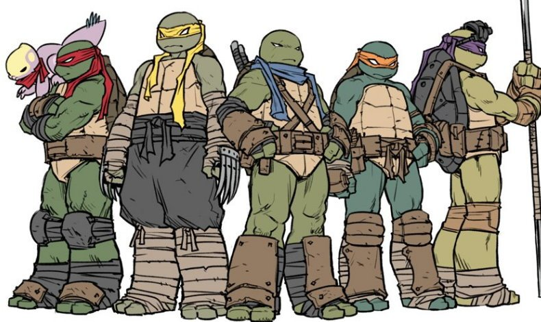 Teenage Mutant Ninja Turtles Jennika Gruppe
